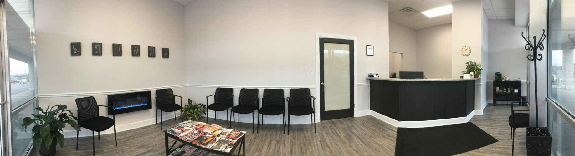 East Town Dental's waiting room